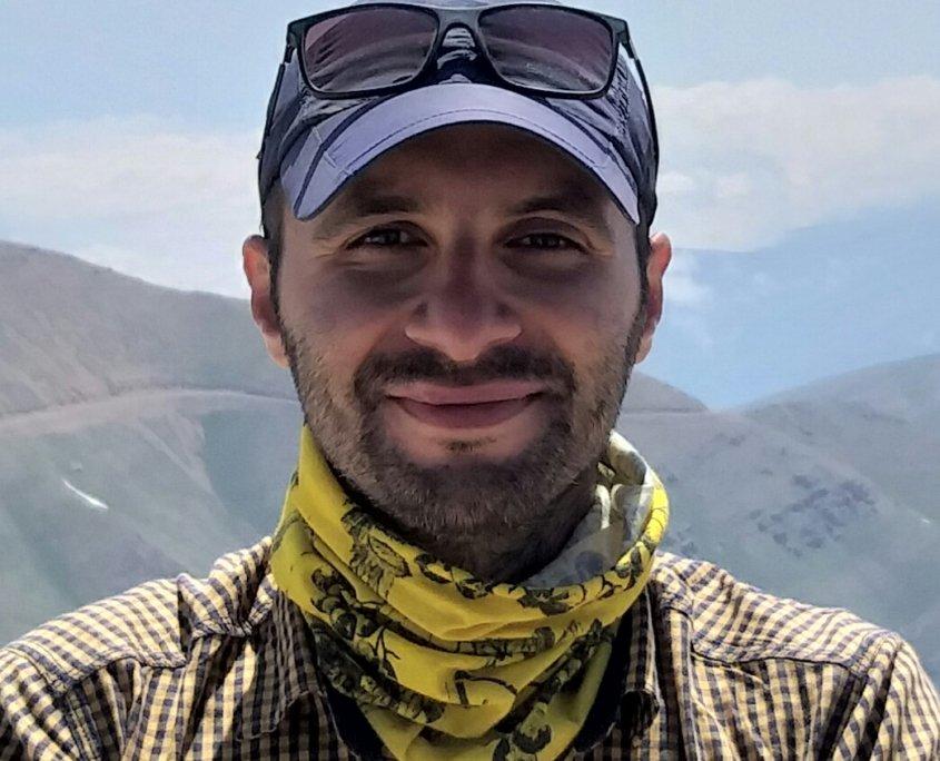 مسعود فرح بخش؛ راهنمای طبیعت گردی و کوهنوردی