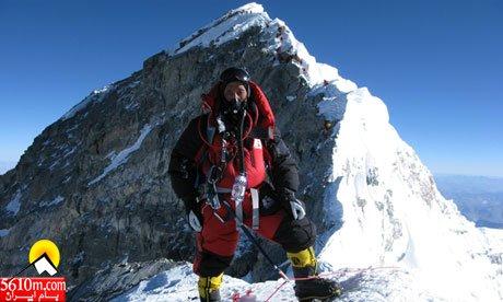 Apa Sherpa at Hillary Step