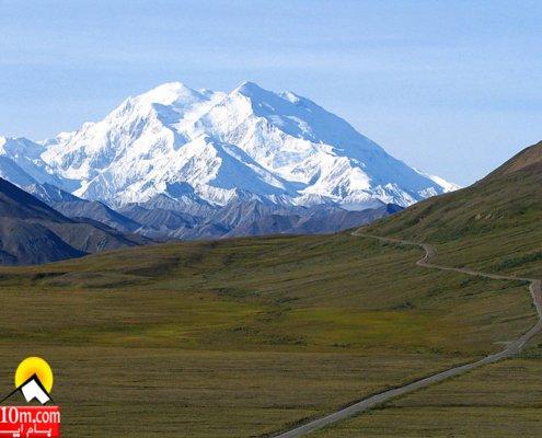 کوه دنالی یا مک کینلی در آلاسکا