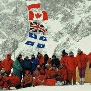 اکسپدیشن بین المللی در اولین تلاش زمستانی بر روی کوه k2 در زمستان 1987/88