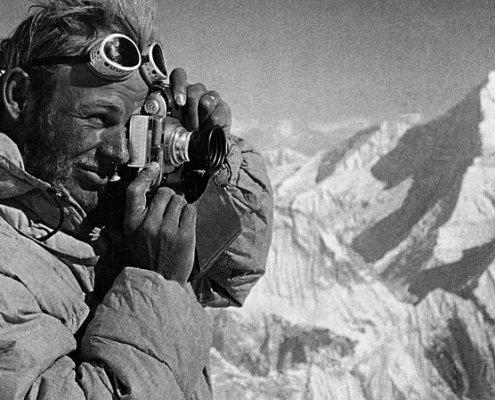 کورت دیمبرگر تنها فاتح اول برلی دو کوه هشت هزاری