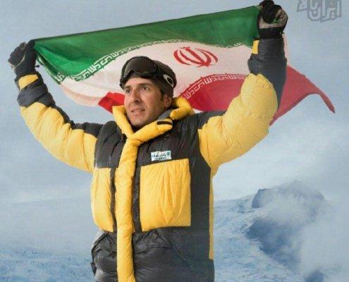 عظیم قیچی ساز، کوهنورد سرشناس وتوانای ایرانی