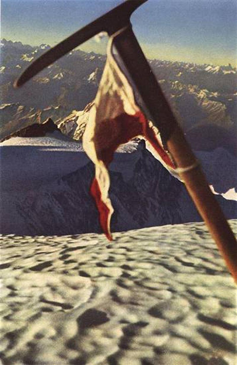 هرمان بول در اولین صعود قله نانگاپاربات