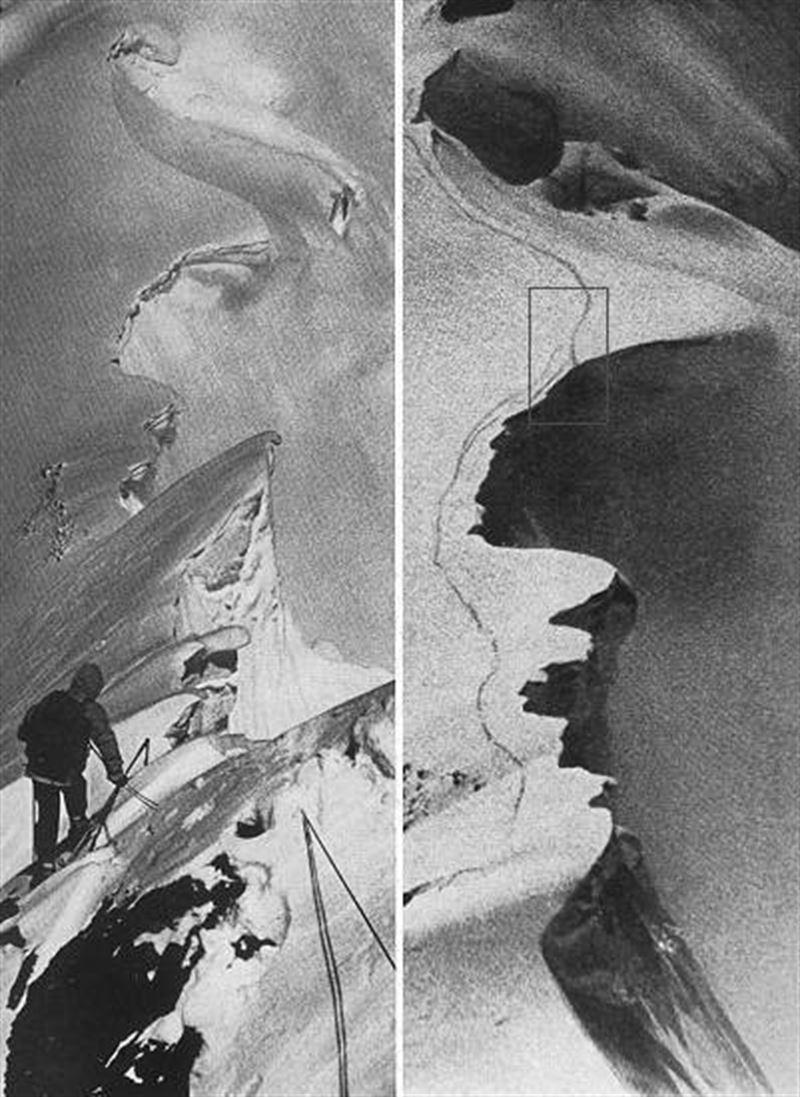 آخرین عکس هرمان بول در کوه چگولیزا