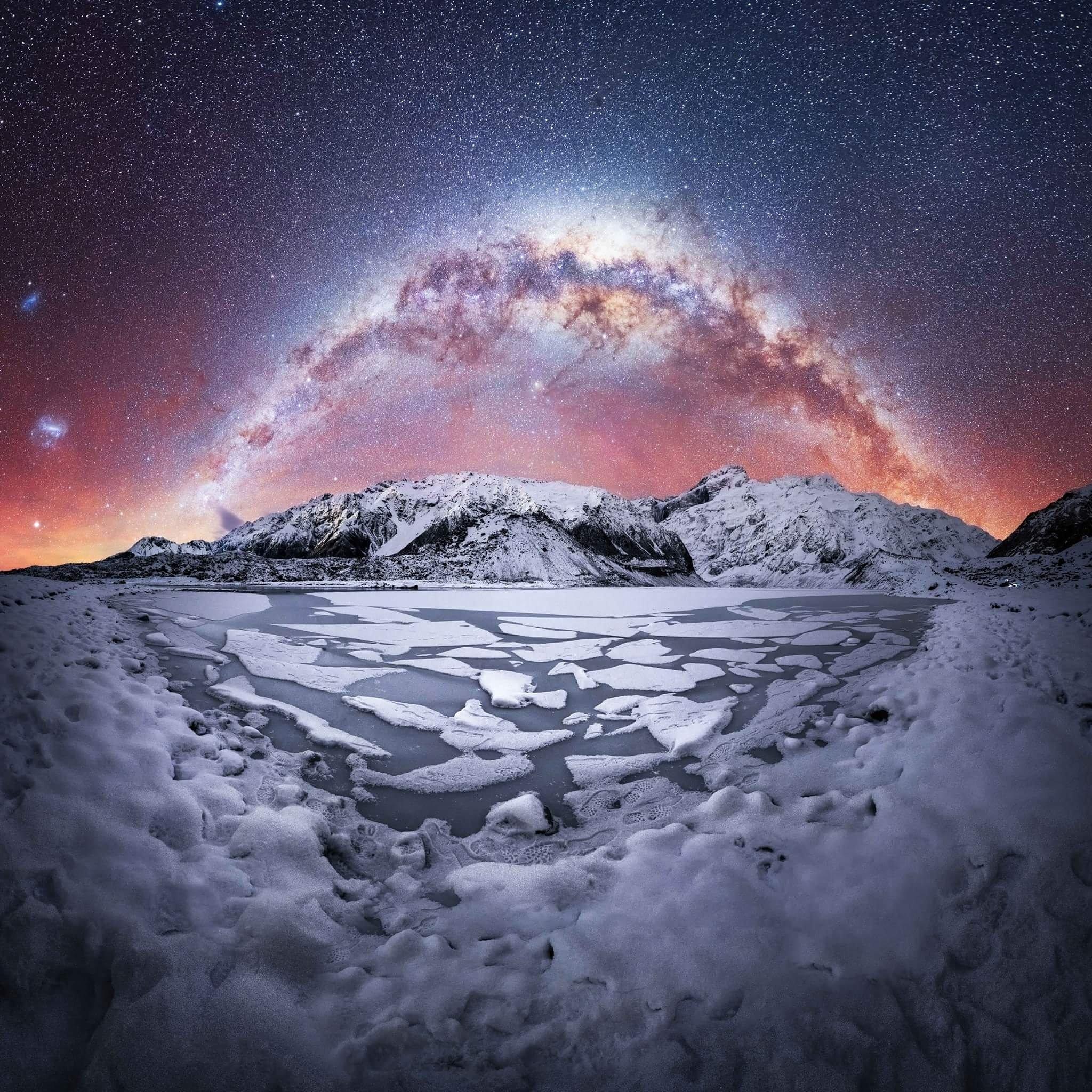 هتل میلیون ستاره در کوهستان