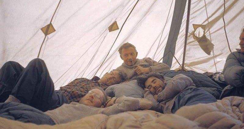 خواب سر ادموند هیلاری بعد از صعود اورست در کمپ اصلی این کوه