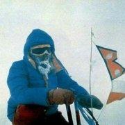 یرزی کوکوجکا در اولین صعود زمستانی کوه داهولاگیری