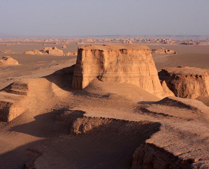 بیابان لوت اولین اثر طبیعی ثبت شده ایران در فهرست آثار طبیعی یونسکو
