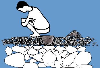 روش صحیح دفع فضولات انسانی در طبیعت