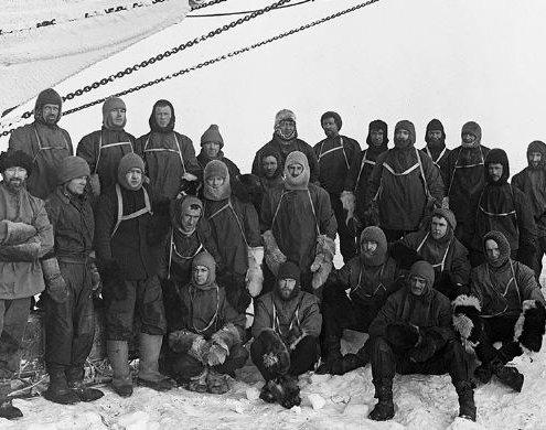 اعضای تیم شکلتون در جنوبگان
